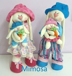 Sewing Stuffed Animals, Easter Crafts, Smurfs, Diy And Crafts, Sewing Patterns, Rabbit, Alice, Bunny, Dolls