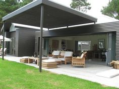 . Outdoor Areas, Outdoor Rooms, Outdoor Living, House Deck, House Front, Carport Plans, Aluminum Patio, Concrete Patio, Patio Roof