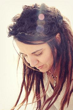 dreads in the sun. | taken by jessamyn turgesen {dreads 6 mo… | Denise Andrade | Flickr