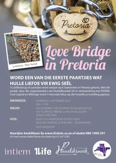 #LoveBridge #Pretoria #TogetherForever