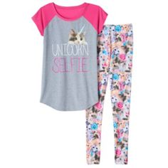 SO Graphic Pajama Set - Girls 4-14