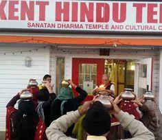Punjab News, Dainik Savera News, Savera Hindi News Hindu Temple, Cultural Center, International News, Graffiti, United States, Culture, Twitter, Places, Graffiti Artwork