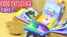 CAJA SORPRESA con laberinto - Tutorial Parte 2 (Exploding Box)  ✄ Crafti...