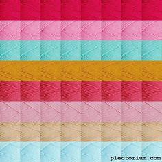 Stylecraft Special DK 1435 Bright Pink, 1241 Fondant, 1422 Aspen, 1709 Gold, 1083 Pomegranate, 1080 Pale Rose, 1034 Sherbert, 1710 Stone