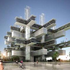 Taichung Cultural Center competition entry, Taiwan - design by Sane Architecture.