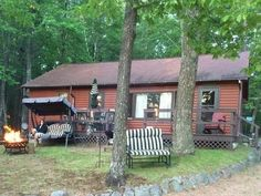 Tall Pine Terrace - A great new offering for 2015...resort cabin has 4 bedrooms and a freshly remodeled bathroom! It's located on the South Bay of Little St. Germain Lake on the grounds of the Pine Terrace Resort. Sleeps 8.