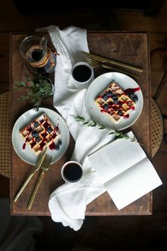 our food stories: glutenfree ginger & cardamom waffles