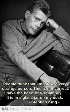 Stephen King - love his earlier works