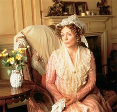 Regency England 1811 - 1820 - Empire France 1799 - 1814 - Jane Austen - Pride and Prejudice Mrs Bennet, Jennifer Ehle, Jane Austen Movies, Lady Jane, Colin Firth, Period Dramas, Period Movies, Pride And Prejudice, Winchester