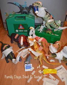 Dinovember: First Aid