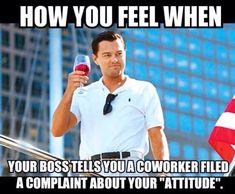Co-worker humor