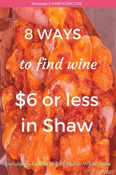 Happy Hour DC   8 Ways To Find Wine $6 Or Less In Shaw including where to find $5 red or white wine...Click through for more! White Wine, Red Wine, Wine Bistro, Eat The Rich, Bottomless Mimosas, Bloody Mary Bar, Wine By The Glass, Find 5, All Beer