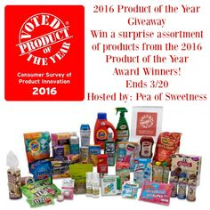 Enter to Win 2016 Product of the Year Giveaway Ends 3/20
