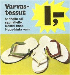 Varvastossut - 70-luvulta, päivää ! -blogi