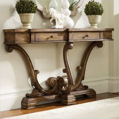 Hooker Furniture Sanctuary Thin Console in Amber Sands - 3022-85001