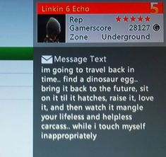 Most Creative Xbox Live Private Messages