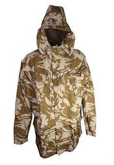 cc46b783 Shirts 175630: New British Army Desert Dpm Camo Sas Parka ( Choice Of Size )