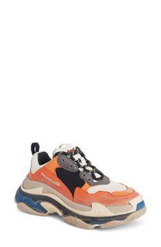a1b30e77c40cc Balenciaga Triple S Sneaker (Women)  balenciaga  sneakers  shoes Pretty  Shoes,