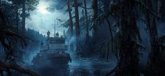 ArtStation - One life concept locations, Yura Gvozdenko
