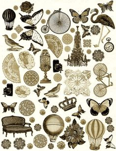 Steampunk Image Sheet