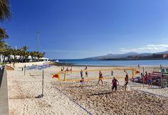 Volleyball on the beach at Caleta de Fuste, Fuerteventura Tenerife, O Hotel, Amsterdam, Great Hotel, London Hotels, Canary Islands, Summer 2015, Vacation, Beach