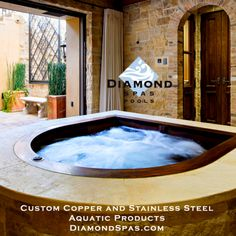 29 Copper Hot Tub Ideas Hot Tub Spa Design Endless Pool