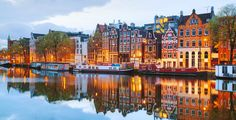 Amsterdam, I feel so lucky to go to school in the very heart of this old city :)