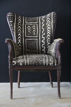 AfricaStyle: African Textiles + Furniture = Shockingly Awesome |Six Bougies
