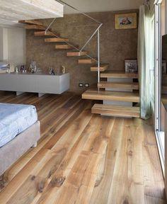 The staircase styles of Cadorin Group Interior Design Living Room, Modern Interior, Interior Architecture, Interior Decorating, Design Interiors, Rustic Staircase, Staircase Design, Interior Stair Railing, Casa Loft