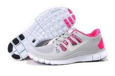 Nike Free 5.0 Damen Schuhe Grau Rosa