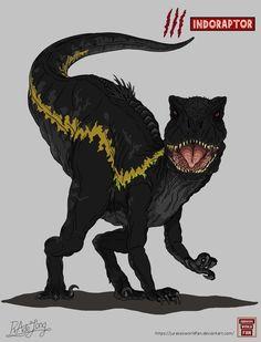 Jurassic World Fallen Kingdom: Indoraptor by JurassicWorldFan