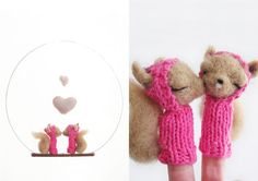 День Святого Валентина на Sees All Colors: Милые зверьки от Lazy Animals