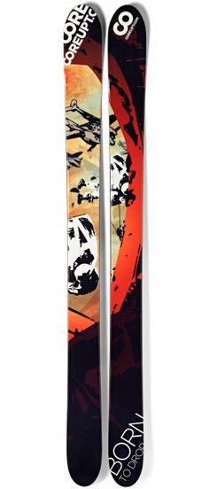 Coreupt Born to Drop 2012, gun for big mountain and powder http://www.coreupt.fr/buy-ski/born-to-drop