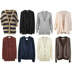 I'm obsessed with CARDIGANS... someone considered getting me one as a present then said she thought I had them all. I disagree, never too many cardigans!