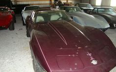 Barn Full Of Corvettes - http://barnfinds.com/barn-full-of-corvettes/