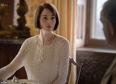 Lady of the house: The pigs were back in Downton Abbey, which could only mean one thing: t...