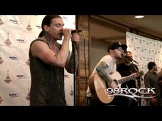 "Shinedown ""Bully"" acoustic - 98RockFest 2012 Brent Smith, Ticket Holders, Vip Tickets, Maybe Someday, Stevie Wonder, Rockers, Music Bands, Bullying, Acoustic"