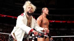 ENZO  & CASS ON WWE RAW