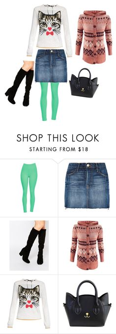 """""""Untitled #276"""" by briettani-michael ❤ liked on Polyvore featuring Frame and ASOS"""