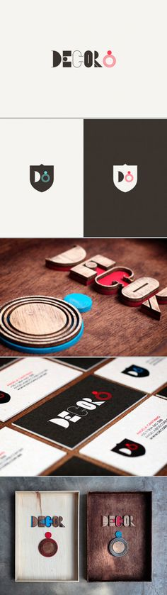 visual identity / decor8   #stationary #corporate #design #corporatedesign #logo #identity #branding #marketing <<< repinned by an #advertising agency from #Hamburg / #Germany - www.BlickeDeeler.de