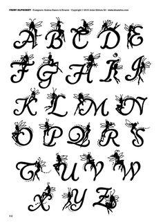 Initials tattoo – 66 photos | VK Calligraphy Fonts Alphabet, Tattoo Lettering Fonts, Hand Lettering Alphabet, How To Write Calligraphy, Doodle Lettering, Graffiti Lettering, Monogram Tattoo, Monogram Fonts, Tattoo Initials