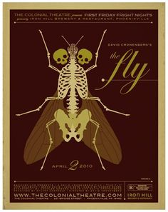 The Fly poster by strongstuff via @DeviantArt. #PinterestHorrorBest https://t.co/saRYbMqUJL
