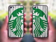 iPhone 5S case,Starbucks two pcs in one pair,iphone 5C case,iphone 5 case,iphone 4 case,iphone 4s,ipod case,Samsung and Blackberry Series on Etsy, $28.98