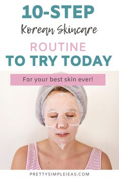 Have you heard about the Korean skincare routine? If you're looking for the best skincare tips, this simple routine covers everything from acne, to wrinkles to dry skin. And I also include the best skincare products to try for it - even ones that are budget-friendly. So try this healthy skincare routine today! #skincare #skincareroutine #koreanskincareroutine