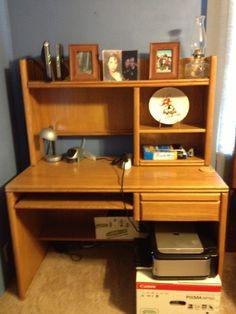 Desk in Tañas Garage Sale in Brownwood , TX for $50. Home computer desk.