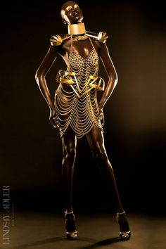Golden Goddess Editorial in Idol Magazine - Lindsay Adler Photography