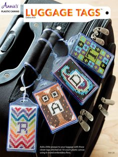 How to Make Luggage Tags in Plastic Canvas