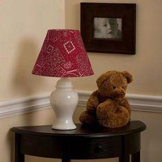 Bunk House Bandana Lamp Shade | Carousel Designs