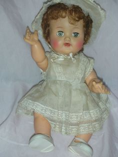 Image detail for -Vintage Ideal Betsy Wetsy Baby Doll from charlottewebcollectibles on ...
