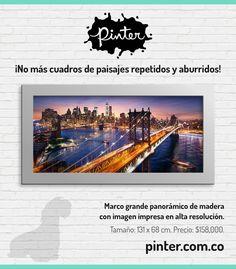 Pinter.com.co Galería y Tienda Virtual de Cuadros. Servicio a domicilio en todo Colombia.